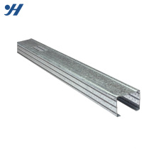 Cold Bending Steel Structure Galvanized Mild Steel C Channel Metal Stud Sizes
