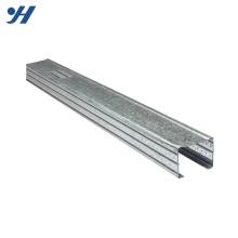 A construção de aço de dobra fria galvanizou tamanhos do parafuso prisioneiro do metal do canal suave do aço C