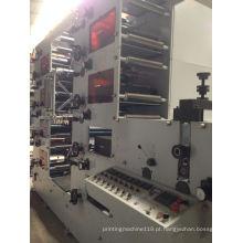 Máquina de impressão flexográfica com 8 cores Zb-320