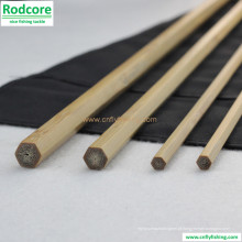 Alta qualidade mão feita bambu Spey Fly Rod em branco