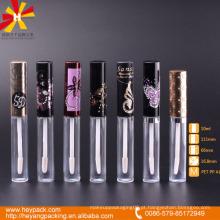 Rentável e agradável design lip gloss container