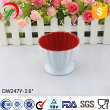 Cuenco de helado personalizado de cerámica al por mayor de China al por mayor