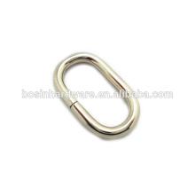 Art- und Weisequalitäts-Metall-Nickel überzogener ovaler Ring