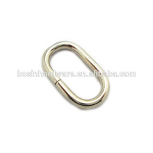 Fashion High Quality Metal Nickel Plated Oval Ring