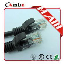 TOP10 CHINA FABRICANTE !!! Cabo de paragem de fibra ótica sc / pc / utp cat5e cabos de cabo de conexão