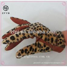 Moda nuevos importadores de estilo de guantes de cuero