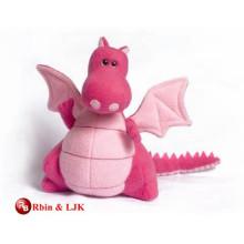 Diseño personalizado OEM dragón de peluche de juguete