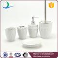 Buen artículo del cuarto de baño del hotel de cerámica del mercado 5pcs