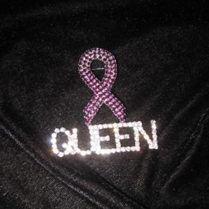 Crystal Ribbon Shaped Queen Pins