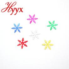 HYYX New Style Hersteller Indoor Schneeflocken Form Pailletten
