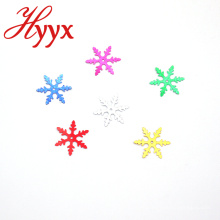 HYYX New Style Manufacturers Indoor snowflakes shape sequins