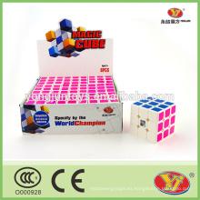 Venta al por mayor 3x3x3 rompecabezas mágico cubo 9 piezas por caja