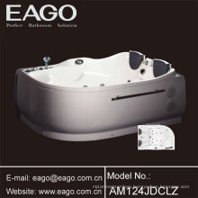 Two People Corner Hydro Massage Tub (AM124JDCW1Z)