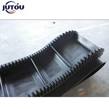 Anti Slip Side Wall Baffle Rubber Material Conveyor Belt Customized By Manufacturer