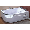 White Acrylic Sanitary Whirlpool Massage Bathtub (OL-665)