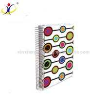 Cuadernos de notas espiral baratos de encargo del cuaderno de notas de la libreta pequeña