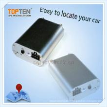 Traqueur de voiture avec surveillance, alarme de dépassement de vitesse, moteur sur appel, appel de vibration (TK108-KW)