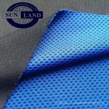 50% de micax 50% de polyester teint dans la fraîcheur maille tissu pour serviette froide