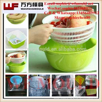 OEM Custom Kitchen drain basket mould/Custom design Kitchen drain plastic injection basket mold/Mould for drain basket