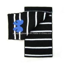 100% Arcyli Single Camada de malha tecido lenço Jacquard