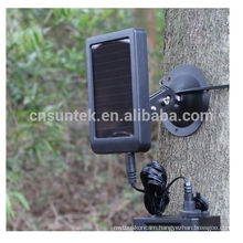 Powerful and Rechargeable Solar Panel for Suntek Hunting Trail Camera