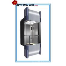 630 kg, 800 kg, 1000 kg, 1250 kg Kapazität Edelstahl Panorama Aufzug