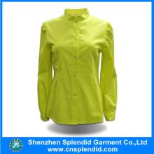 Latest Fashion Pure Color Ladies Office Work Uniform Designs