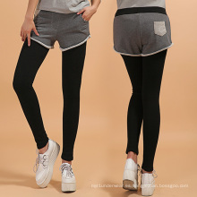 Polainas pesadas de invierno con pantalones cortos