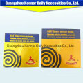 China Chemical Formulal Factory Cheap Price Black Baby Mosquito Coil