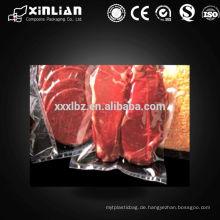 Lebensmittelqualität Kunststoff transparent Vakuum Kompression Tasche