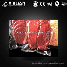 Bolsa de compresión de plástico transparente de grado alimenticio