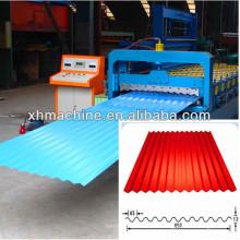 Machine de formage de rouleaux de toit en tôle d'ondulation