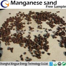 1-2,2-4,4-6mm filtre à eau médias sable de manganèse