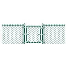 Construction galvanized 6 foot chain link fences