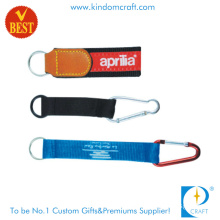 Cheap Customized Logo Climbing Button Carabiner Lanyard for Promotion