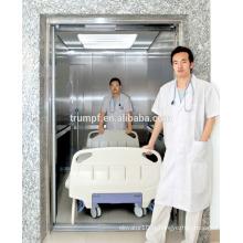 Grand ascenseur hospitalier à grande capacité | ascenseur médical confortable