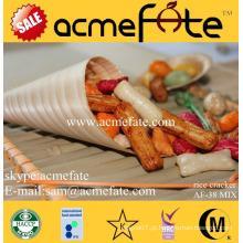 Acmefate Snacks populares Biscoitos de arroz misturados
