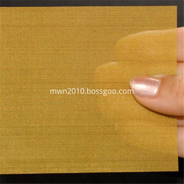 Brass Material Wire Mesh