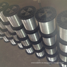 Alambre de metal galvanizado en Spool Pacakge
