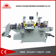 Aluminum PVC Film Laminated Machine with Cutter for Paper Label