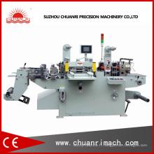 Machine à estamper automatique chaude de clinquant avec le stratificateur de papier