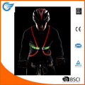 Multicolored LED Fiber Optics Vest for Biking