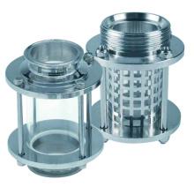Vidrio de la visión inline del acero inoxidable del grado de la comida (IFEC-SG100003)