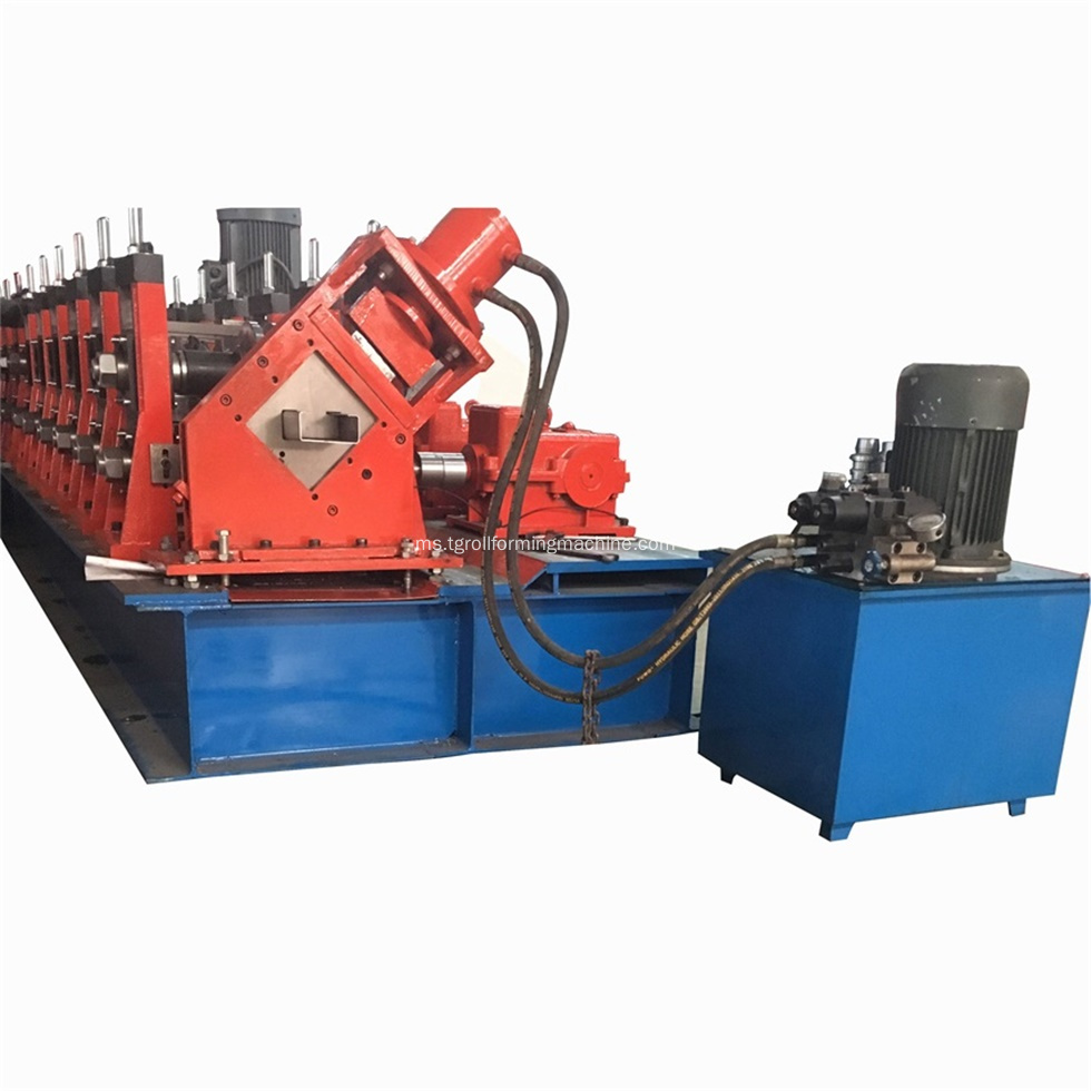 Automatik C80-300 Purlin Roll Forming Machine