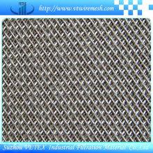 Malla de alambre sinterizado de acero inoxidable de cinco capas