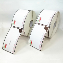 Hot Sale Custom Adhesive Blank Label Rolls Printable Writable Label For Food Storage Sticker