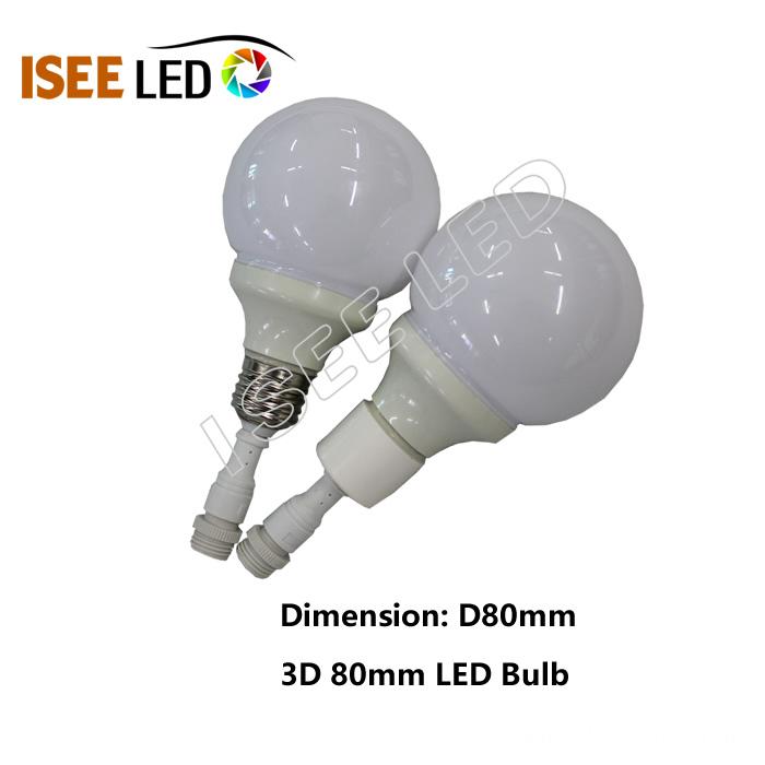 3D dmx led bulb