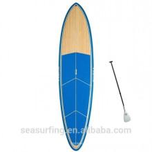 2016 año nuevo pin tail sup nuevo estilo oem surfboard blanco madera venener