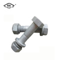 Zn Hotplating electric power steel tower bolt