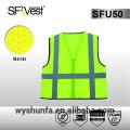 Высокая видимость жилет безопасности высокая видимость ремень мотоцикл светоотражающий жилет безопасности hi vis одежда 100% полиэфирная ткань